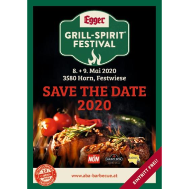 Save the Date Grill Spirit Festival